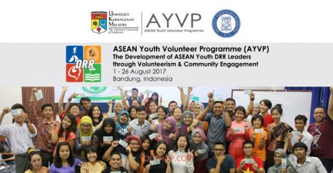 ASEAN Youth Volunteer Programme 2017 in Indonesia