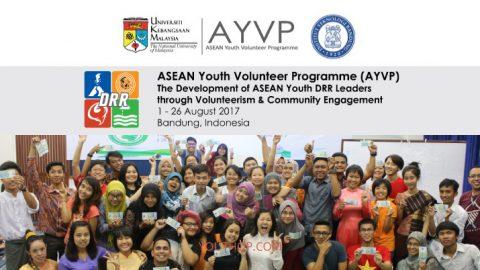 ASEAN Youth Volunteer Programme 2017 in Indonesia