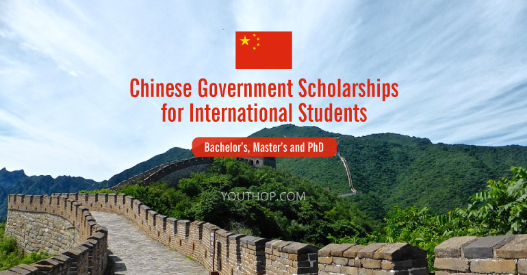 Chinese Government Scholarships 2017-2018 for ...