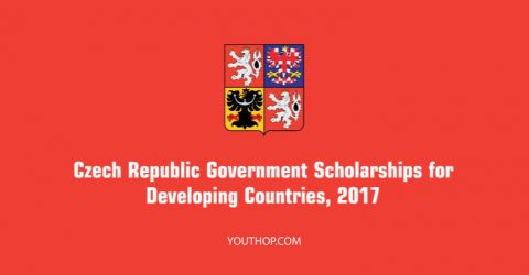 Czech Republic Governmental Scholarship 2017-2018 for Developing Countries