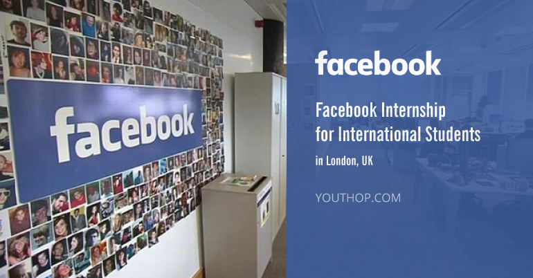 Facebook Product Designer Internship 2017 In London UK