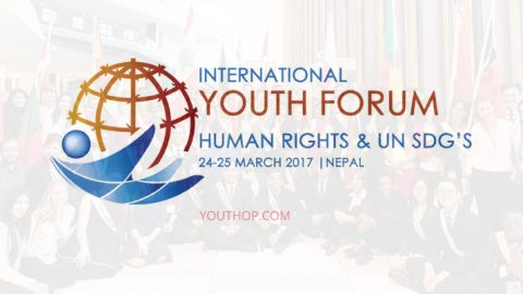 International Youth Forum on Human Rights and UN SDG's 2017 in Nepal