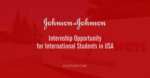 Johnson & Johnson Internship Opportunity for International Students in USA
