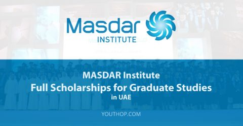 Apply for the MASDAR Institute Full Scholarships 2017 for Graduate Studies in UAE