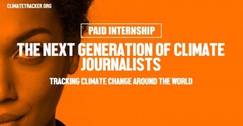Paid Internship Opportunity at Climate Tracker