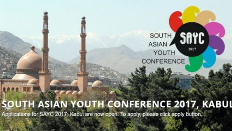 Call for Applications: South Asian Youth Conference 2017 in Afghanistan