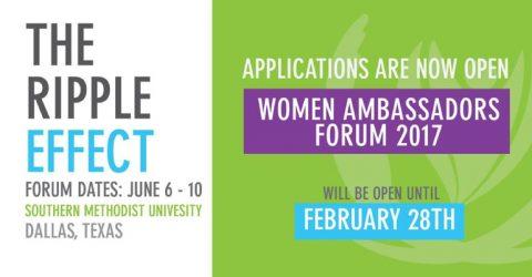 The Women Ambassador Forum 2017 in USA