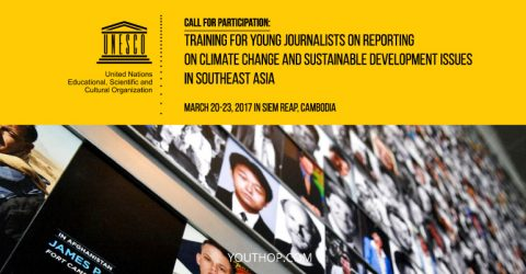 Training for Young Journalists on Reporting on Climate Change & Sustainable Development