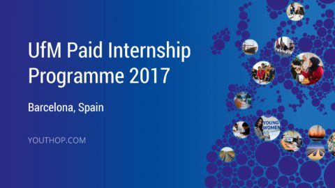 UfM Internship Programme 2017 in Barcelona, Spain