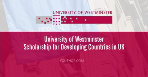 University of Westminster Scholarship 2017 for Developing Countries in UK
