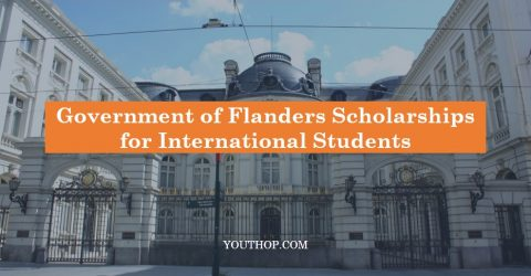 Government of Flanders Scholarships for International Students for 2017-2018