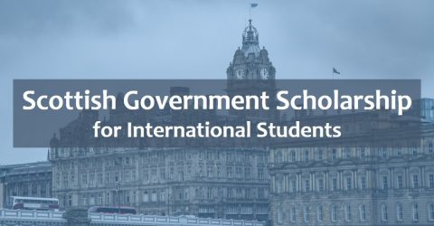Scottish Government Saltire Scholarships 2017 for International Students