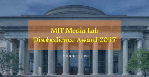 MIT Media Lab Disobedience Award- Win $250,000 cash prize!