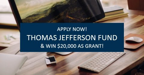 Call for Proposal: The Thomas Jefferson Fund and win $20,000!