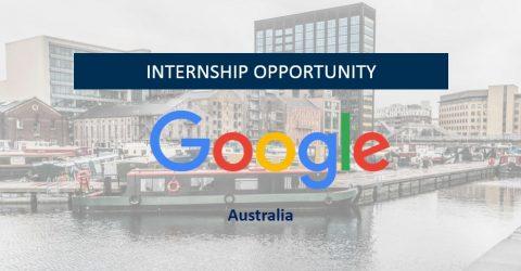 Google Business Intern 2017 in Australia
