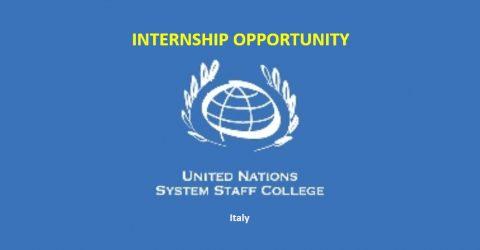 Paid Internship at The United Nations System Staff College (UNSSC) in Turin, Italy