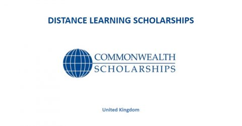 Commonwealth Distance Learning Scholarships for Developing Countries