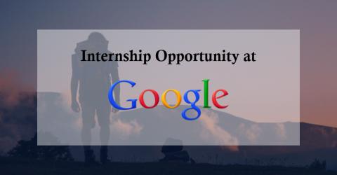 Google MBA Internship 2017 in Singapore