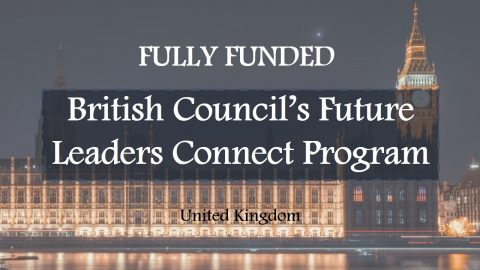 British Council's Future Leaders Connect Program 2017 in UK!