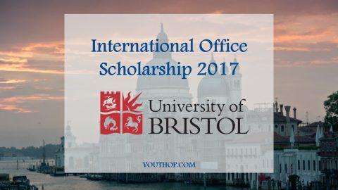 International Office Scholarship at the University of Bristol