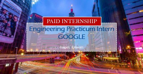 Summer Engineering Practicum Intern 2017  at Google in Taipei, Taiwan