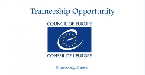 Traineeship Opportunity at the Council of Europe in Strasbourg, France