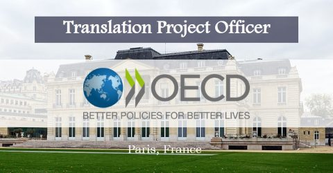 Translation Project Officer Position at OECD