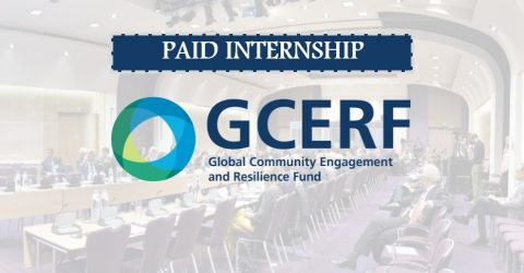 Operations Unit Internships- Global Community Engagement and Resilience Fund (GCERF)