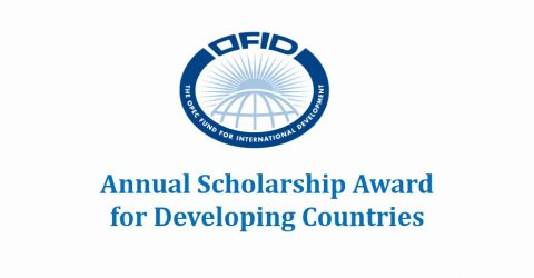 OFID Annual Scholarship Award 2017