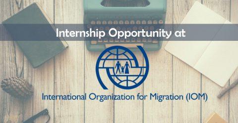 Paid Internship at International Organization for Migration