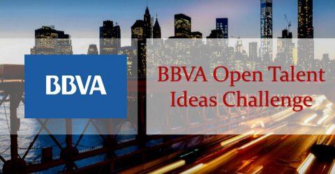 BBVA Open Talent Ideas Challenge