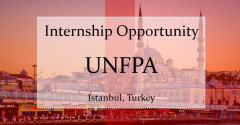 Internship Opportunity at UNFPA in Istanbul, Turkey