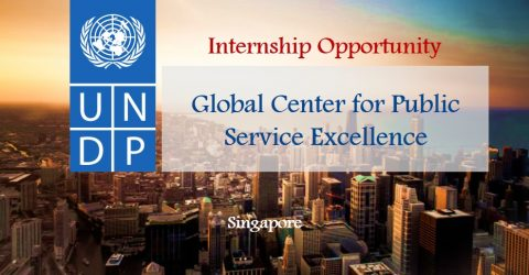 Internship with the Global Center for Public Service Excellence at UNDP in Singapore