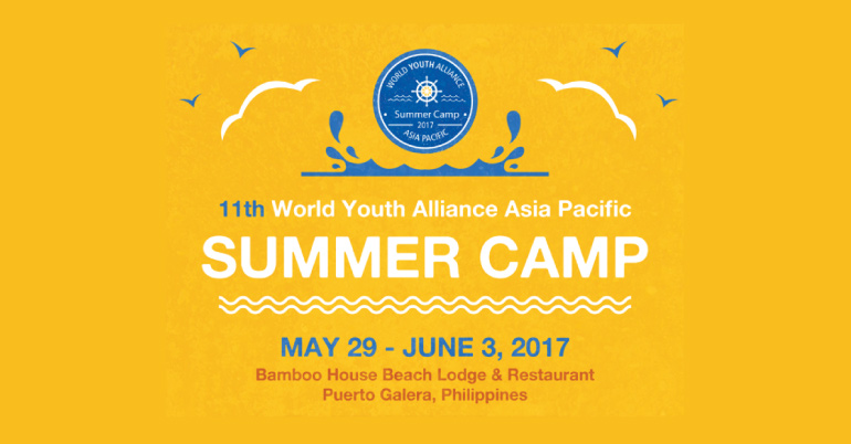 asia pacific summer camp 2017 in philippines - youth opportunities