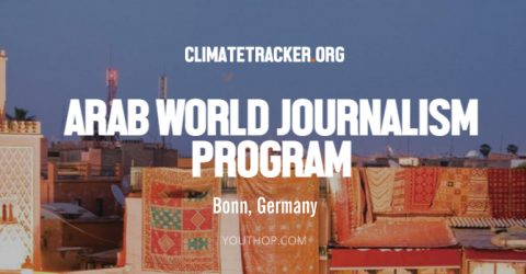 Climate Trackers Arab World Journalism Program 2017 in Germany