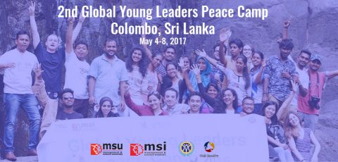 Global Young Leaders Peace Camp 2017 in Colombo, Sri Lanka