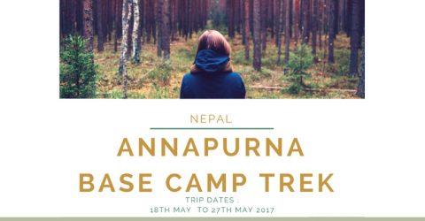 Global Youth Travel Meet – Annapurna Base Camp in Nepal