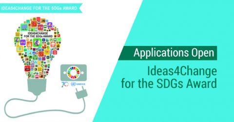 Applications Open for Ideas4Change for the SDGs Award 2017