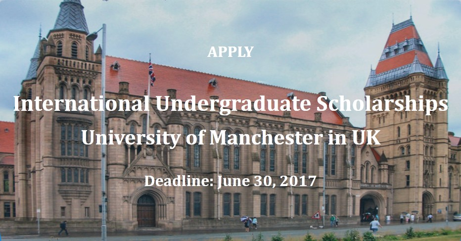 International Undergraduate Scholarships at University of ...