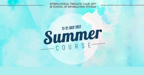 International Thematic Camp 2017 at School of Information Systems in Indonesia