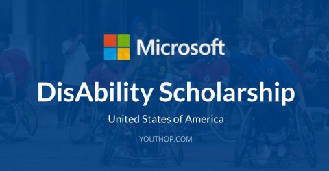 Microsoft Disability Scholarships 2017 for International Students in USA