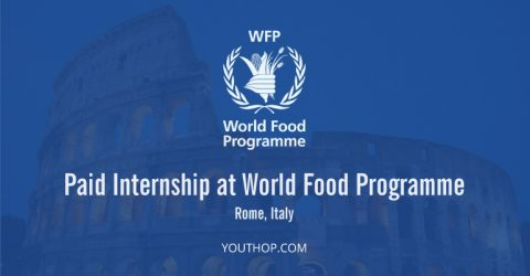 Paid Internship at World Food Programme in Rome, Italy