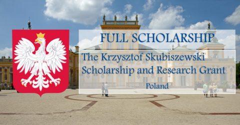 The Krzysztof Skubiszewski Scholarship and Research Grant 2017 in Poland