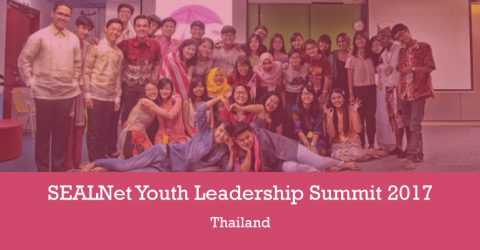 SEALNet Youth Leadership Summit 2017 in Thailand