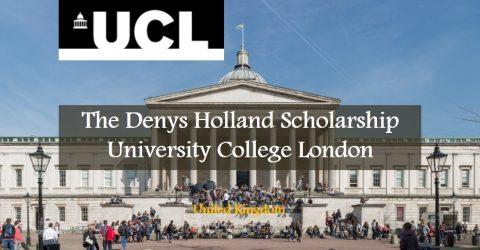 The Denys Holland Scholarship at University College London, United Kingdom