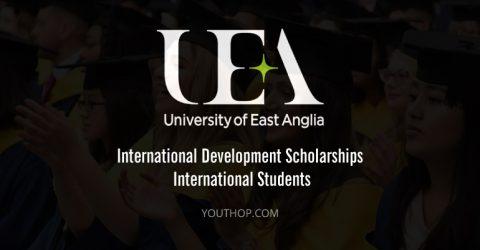 UEA International Development Scholarships 2017 for International Students