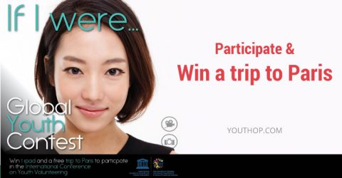UNESCO Global Youth Contest 2017 – Win a trip to Paris