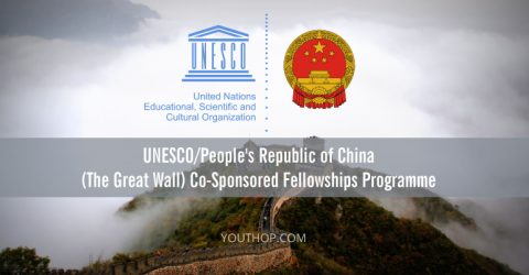 UNESCO/China (The Great Wall) Co-Sponsored Fellowships Programme 2017