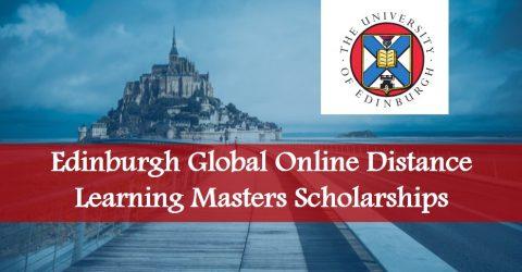 Edinburgh Global Online Distance Learning Masters Scholarships
