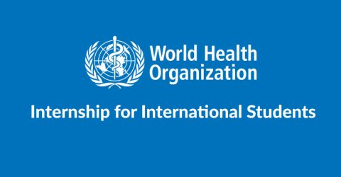 World Health Organization is Offering Internship Programme